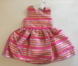 Gymboree Family Brunch Spring Dressy 6 8 10 Striped Easter Dress Hair NWT Outlet