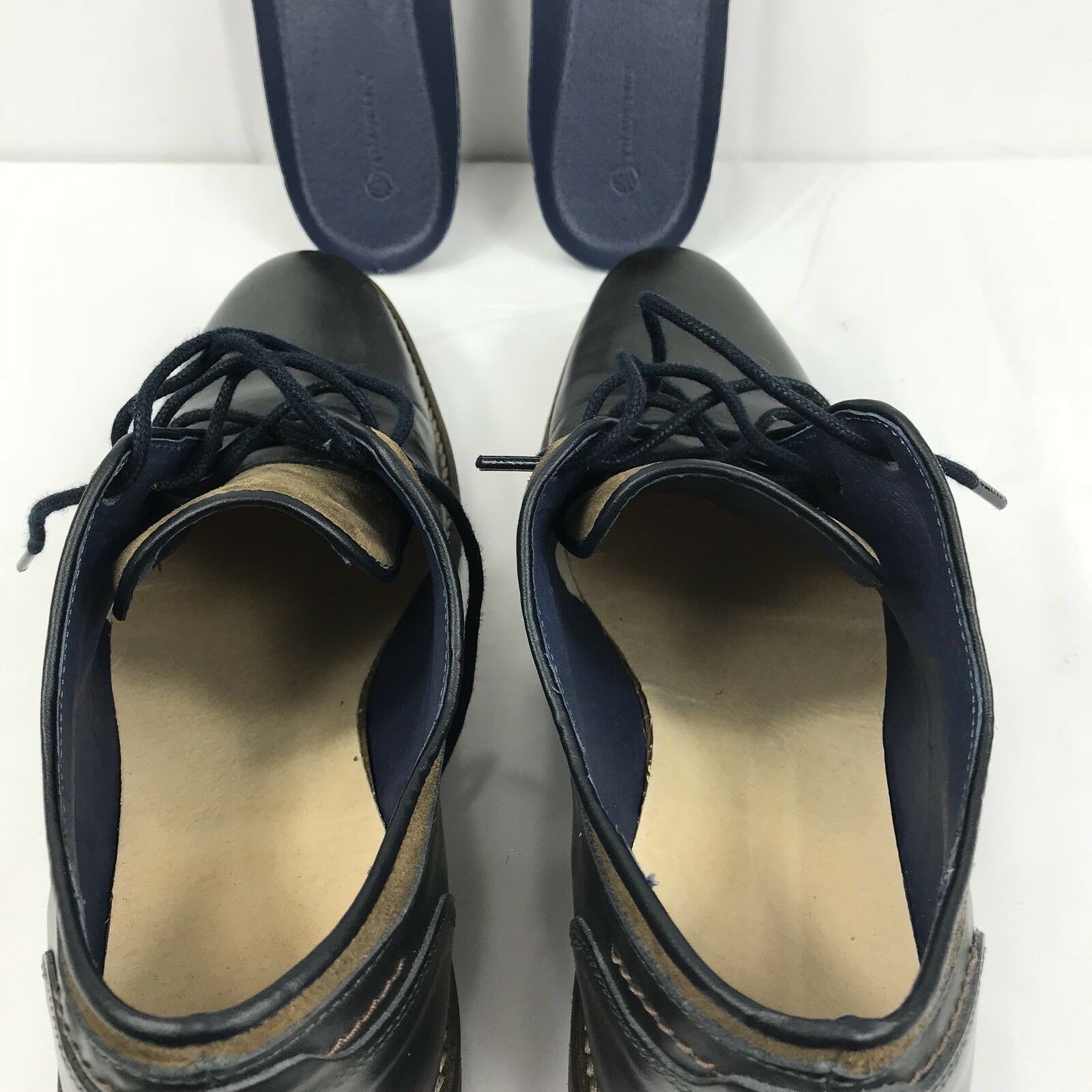 Travelin 'Nuevocastle LOW para Oscuro Hombre Zapatos Azul Oscuro para Hecho a mano en Europa UE EE. UU. 10 6ec0ac