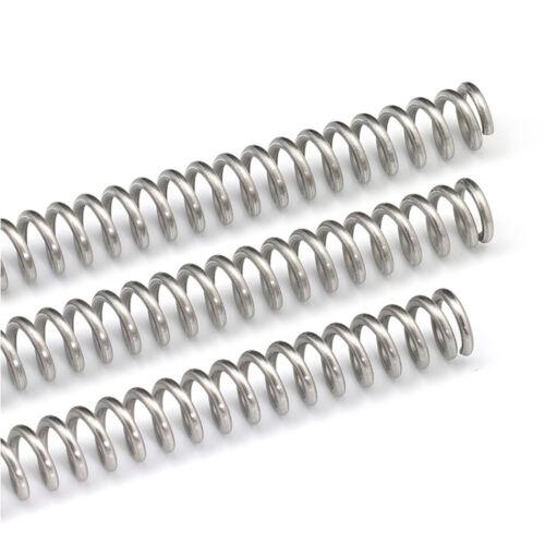 Druckfeder Edelstahl Feder Druckfeder Drahtdurchmesser 0.3mm-2.5mm Länge 305mm