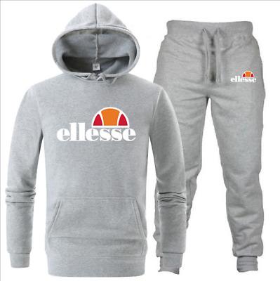 ellesse Jogging Anzug Trainingsanzug Sweatshirt Hose Sportanzug Polyanzug | eBay