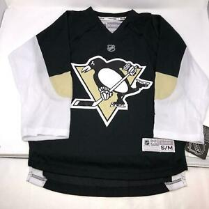 Pittsburgh-Penguins-NWT-NHL-Hockey-Jersey-Reebok-NHL-Youth-S-M