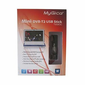 Details about GENIATECH MyGica USB TV Stick T230C DVB-T2/DVB-T Tuner for  Laptop/PC, T230