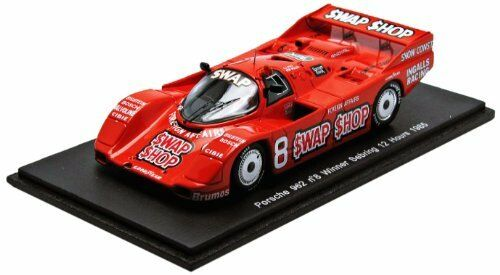 vendita di fama mondiale online PORSCHE 962  8 Winner Winner Winner Sebring 12 hours 1985 Wollek Foyt 1 43 modello s2989  scelta migliore