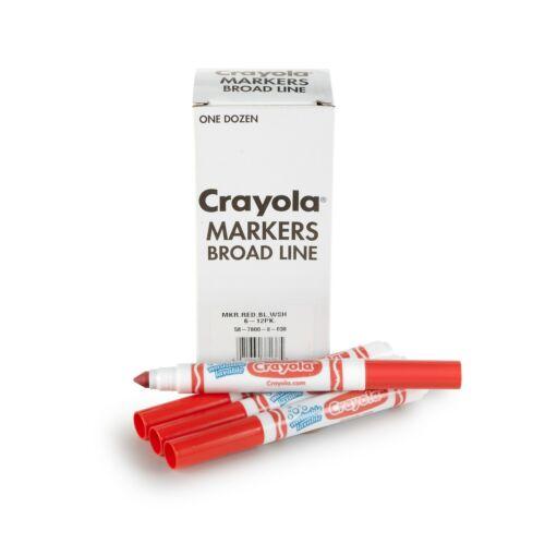 Crayola Washable Broad Line Bulk Markers 12 58-7800-038