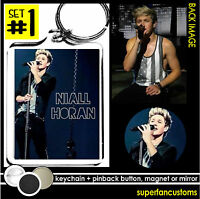 Niall Horan Keychain + Button Or Magnet Or Mirror Shirtless One Direction 1402