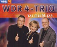WDR4-Trio (Ulla Norden..) 3x1 macht 1x3 (2001) [Maxi-CD]