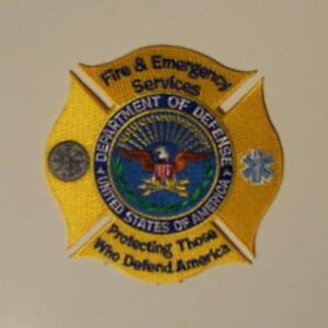 Dod Fire Emergency Services Patch Ebay
