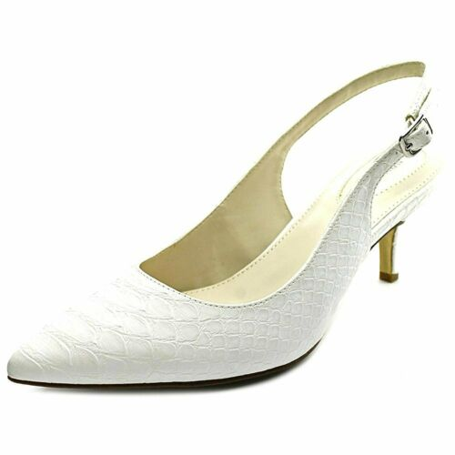 Alfani Womens Babbsy Pointed Toe Ankle Strap Classic Pumps