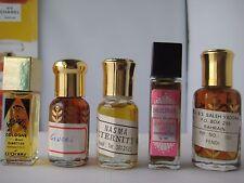 lot New Gucci Shalimar Fendi Vintage J & S SALEH YADGAR Perfume Oil Bahrain
