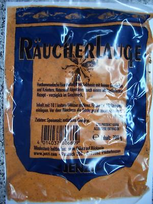 JENZI-Räucherlauge 7,50€//1kg naturrein 700g