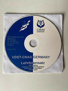 VDST-CMAS GERMANY Lehrfoliensatz CD VDST Ausbildung Tauchen Tauchsport VDST CMAS