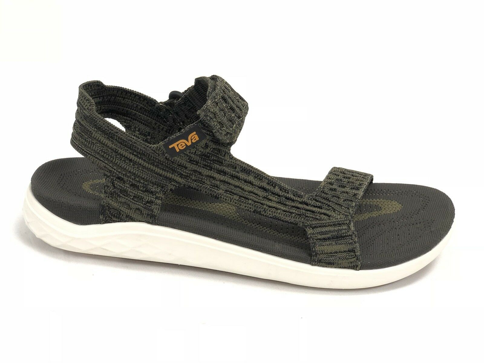 TEVA OLIVE TERRA FLOAT 2 KNIT UNIVERSAL STRAPPY SANDALS Men's Shoes 1091592 New