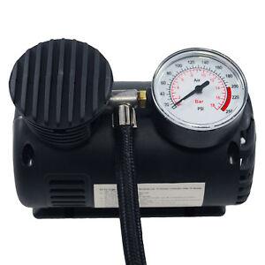 ProPlus-Minikompressor-12V-17-Bar-fuer-Zigarettenanzuender-3-Adapter-fuer-Fahrrad