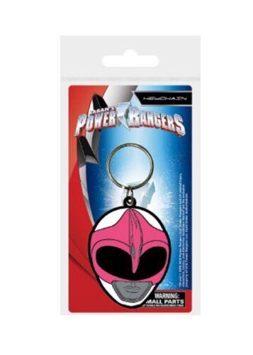 Power Rangers porte-clés caoutchouc Pink Ranger Helmet 5 cm keychain 38624