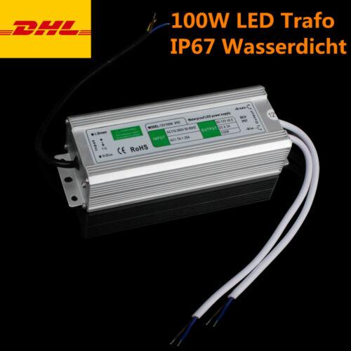 DC12V Transformator Netzteil Wasserdicht IP67 LED  f RoHS LED Strip 20-200W CE