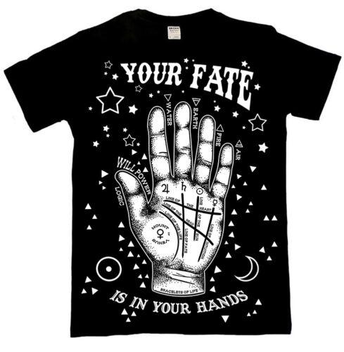 Black Satanic Alternative Clothing Official Luna Cult Occult Gothic T Shirt