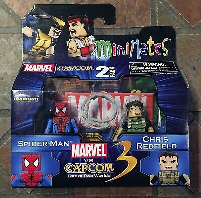 Marvel vs Capcom 3 Minimates Wave 2 Spider-Man