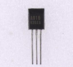 A916 TRANSISTOR SI-P 160V 0.05A 1W 80MHZ 2SA916-2SA 916