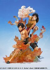 Bandai Figuarts Zero One Piece Monkey D Luffy & Portgas D Ace Brother's Bond Set