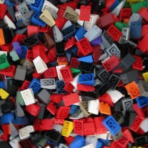 Used-LEGO-500g-Packs-Slopes-3298-Schraegstein-33-3-x-2