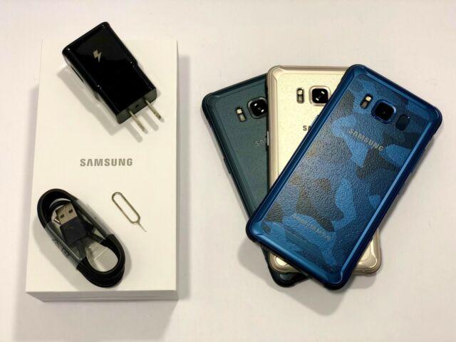 Samsung Galaxy S8 Active Sm G892 64gb Meteor Gray Unlocked For Sale Online Ebay