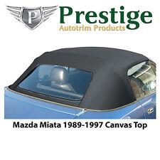 Mazda Miata Na Convertible Top Tops Roof Canvas Zippered Window 1989 97 Fits Mazda Miata