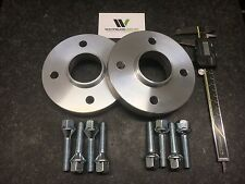 Pair 4x100 Hubcentric Spacers 20mm Wide 60.1CB 8 Wheel Bolts CLIO MEGANE UK Made