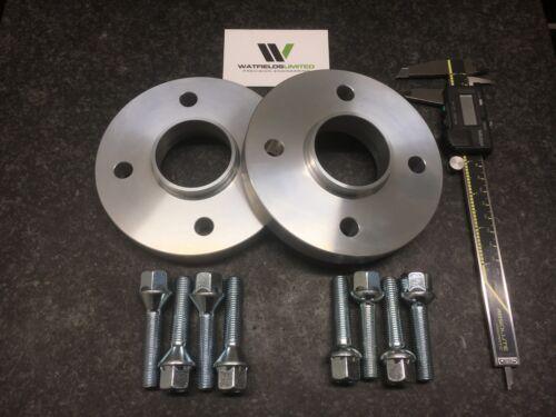 Par 4x100 HUBCENTRIC SEPARADORES de 20mm de ancho 60.1CB 8 Pernos de rueda clio Megane UK Made