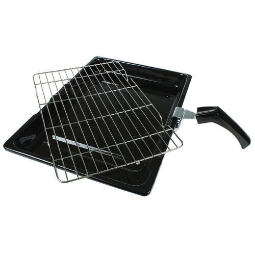 For HOTPOINT INDESIT Creda Universal Cooker Oven Grill Pan /& Handle 380 x 270 mm