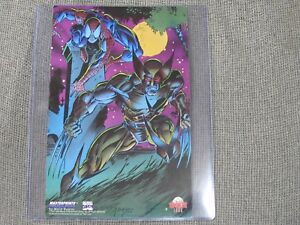 1994-SPIDER-MAN-VS-WOLVERINE-MasterPrints-Promo-Print-by-Mark-Bagley-MARVEL-Rare
