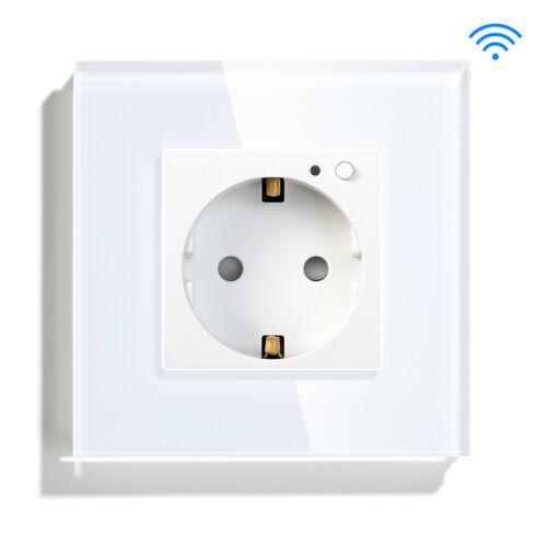 BSEED WLAN Touch Dimmer Schalter Smart Wand Steckdosen WIFI Dimmer Lichtschalter