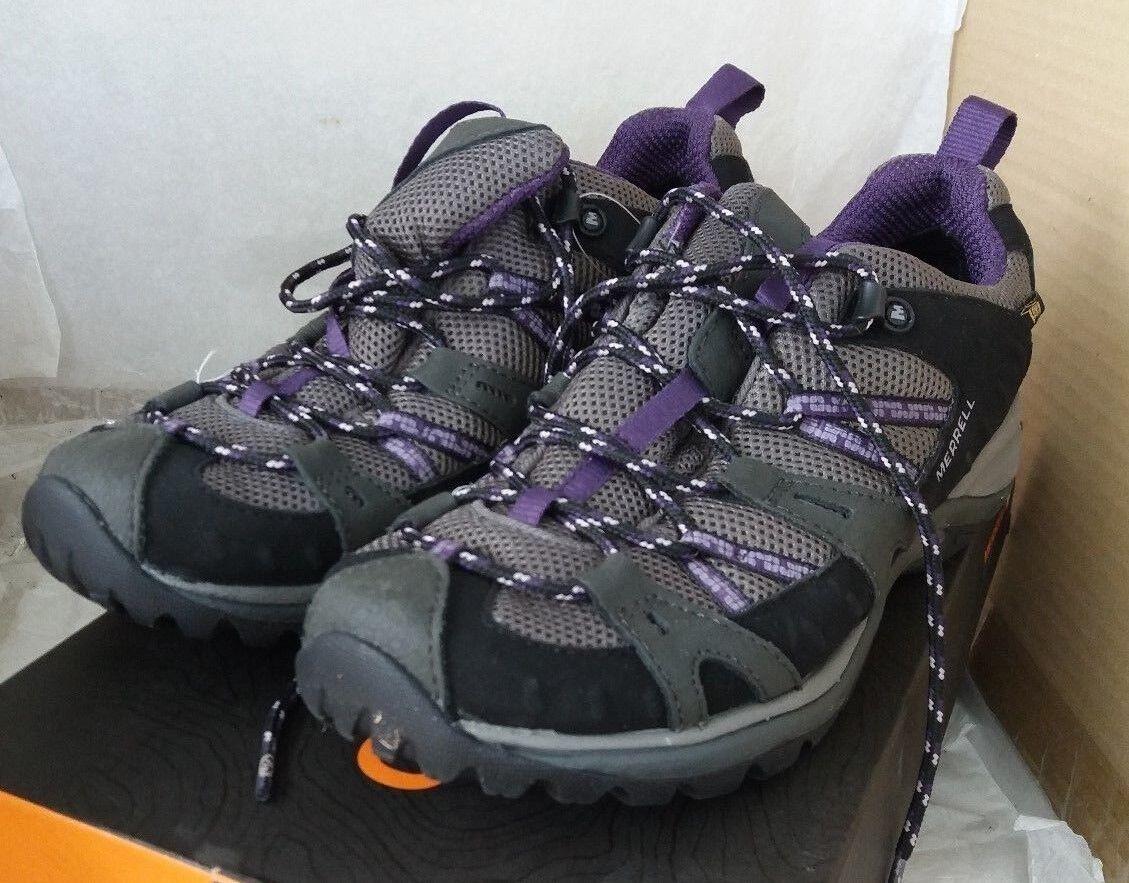Reducción de precio precio precio Merrell Siren Sport Negro/Perfecto Ciruela Gore-Tex Zapatos Para Caminar Impermeable UK 7 e5158f