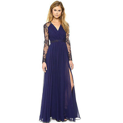 Talla Grande Mujer Vintage Boho Largo Vestido de fiesta Noche Verano Playa Lote