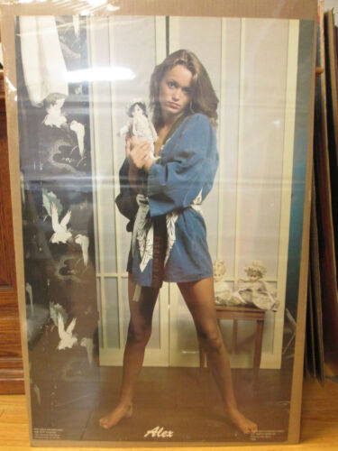 "Vintage 1978 /""Alex/""  tod Gray poster man cave hot girl 7728"