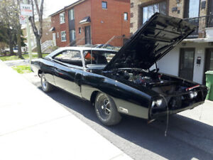 1970 Dodge Charger R/T #Match 65000.00Cad
