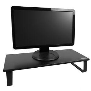 Single-Monitor-Riser-Stand-1-ecran-d-039-ordinateur-bureau-organisateur-un-espace-de-travail