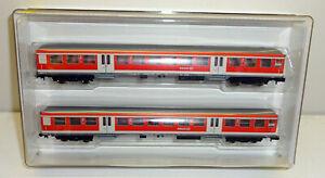 Minitrix-Trix-N-11140-2-Personenwagen-Set-034-Regionalexpress-034-der-DB-AG-NEU