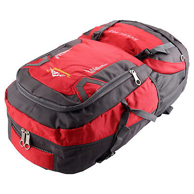 Waterproof 60L Large Mountaineering Climbing Backpack Outdoor Military Nylon Bag