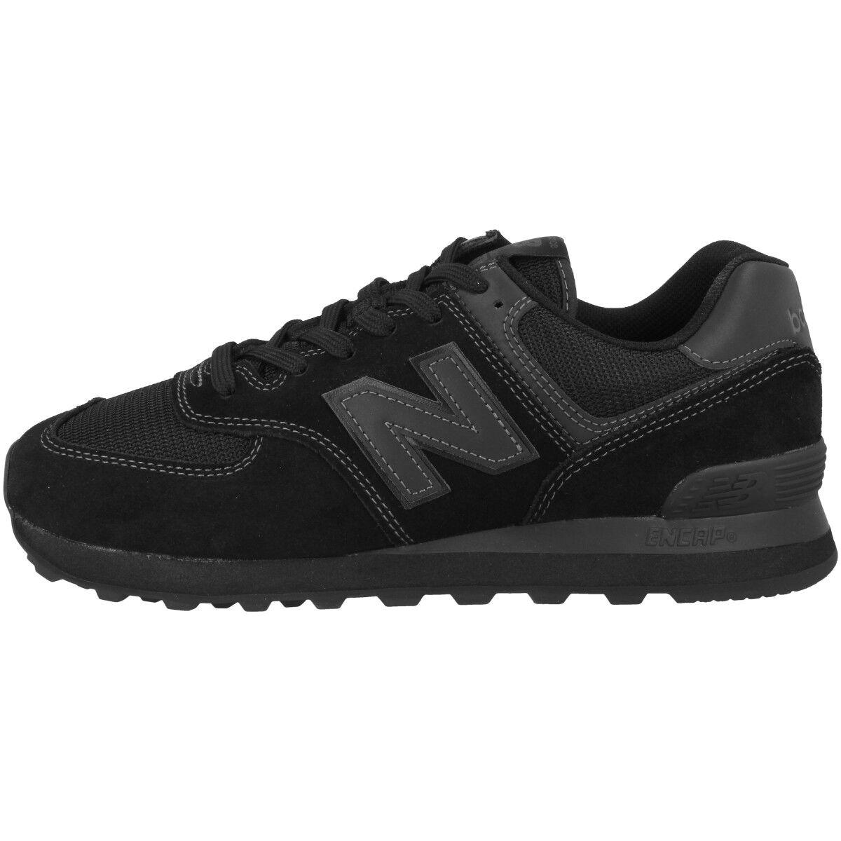 New Balance ML 574 ETE Schuhe Freizeit Sport Retro Turnschuhe schwarzout ML574ETE    | Die Königin Der Qualität