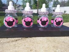14 Fillable Bottles Baby Shower Favors MInnie mouse Party Decorations For girl