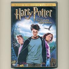 Harry Potter & Prisoner of Azkaban 2004 PG movie, 2-disc DVDs Radcliffe, Watson
