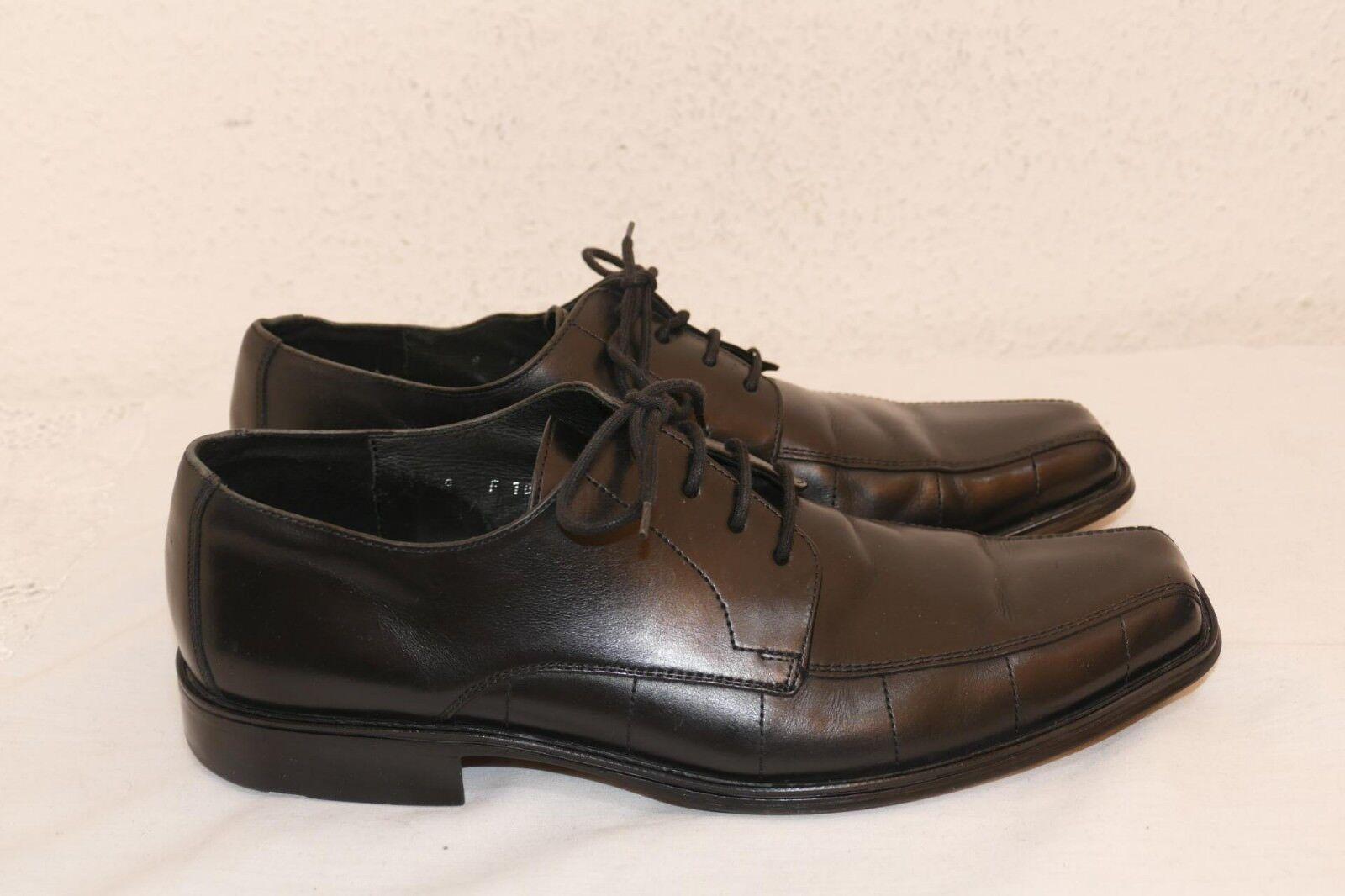 1063---Lloyd Dover UK 9  Gr 43 Schnürer Leder innen +aussen Farbe schwarz
