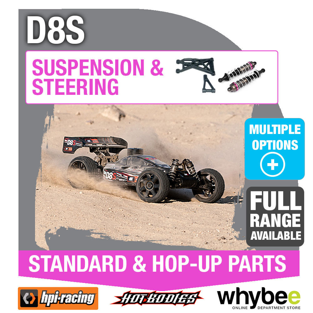 HPI D8S RTR [Steering & Suspension] Genuine HPi Racing R C Standard   Hop-Up