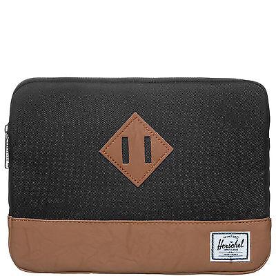 Herschel Heritage Tablet Tasche Schwarz NEU