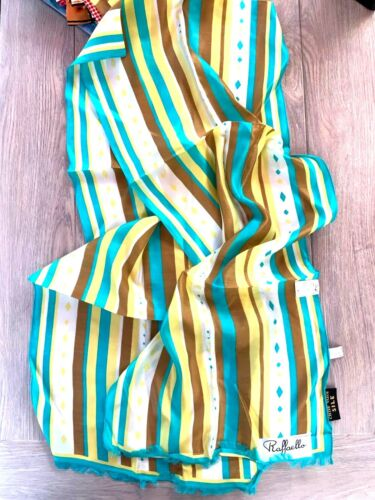 Vintage 1960s Deadstock Italian Designer Gladys Lemon Yellow Cotton Dress Mini Midi M 10 12 Cap Sleeve NWT 70s Mod Psych Gogo Beat Girl Crew