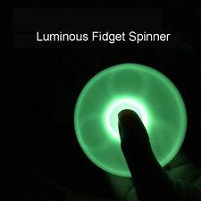 Glow In the Dark Hand Spinner Tri Fidget Focus Tool Desk Toys Stocking Stuffer