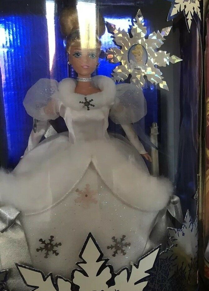 Barbie cenicienta Holiday Princess NRFB Collector Dolls