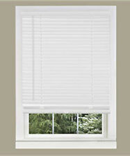 DESIGNERS TOUCH Vertical Blind steel Headrail with Wand White 71 In - 289294