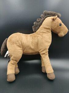 Ikea Okenlopare Brown Horse Pony 12 Quot Plush Ebay