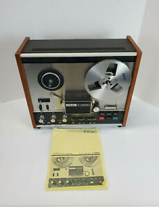 TEAC-A-2300S-REEL-TO-REEL-TAPE-DECK-RECORDER-2-channel-No-cord-Read-Disc